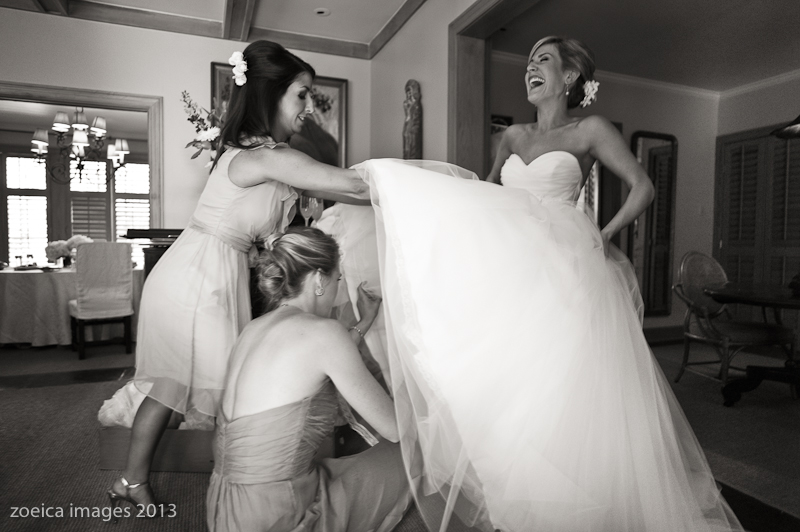 bride and bridesmaids new orleans wedding photography