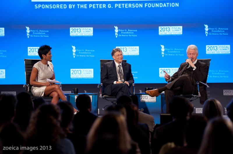 Peterson Foundation 2013 Fiscal Summit Mellon Auditorium