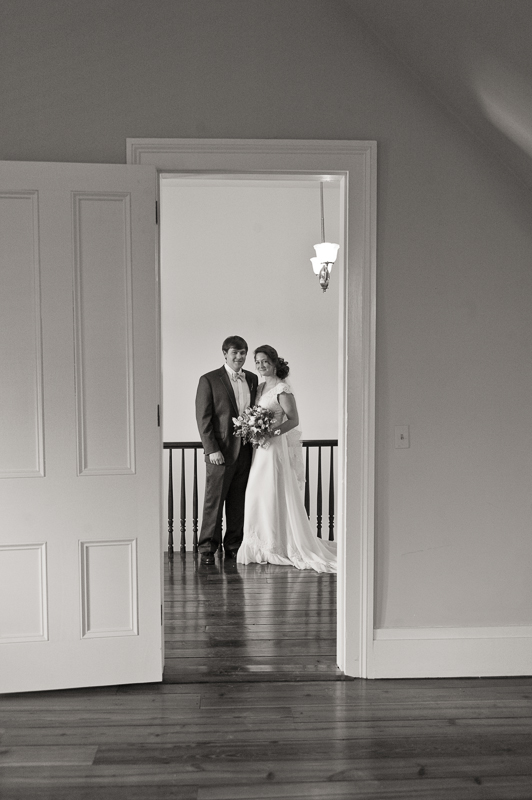 first look southern wedding photography
