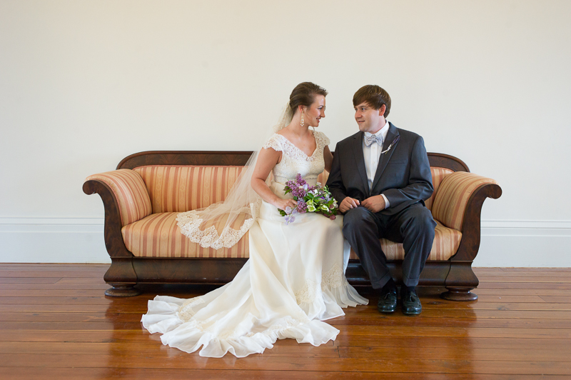 bride and groom portrait mississippi