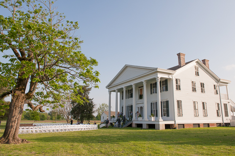 old plantation wedding