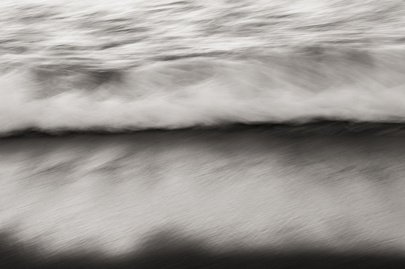 waves on a beach puerto rico photography